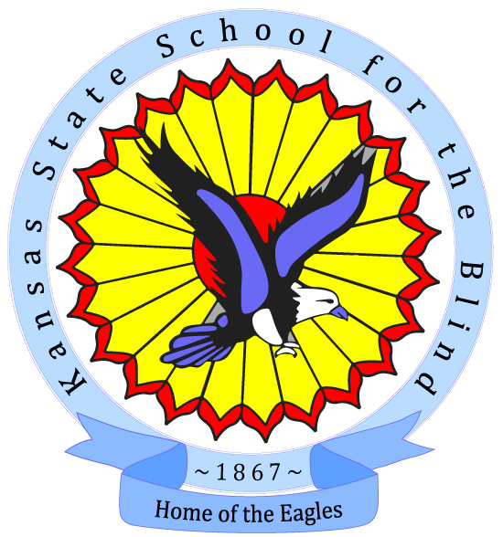 Kansas State School for the Blind logo