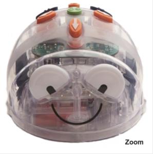 Blue Bot Mouse Robot