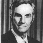 Black and white photo of Russell Williams