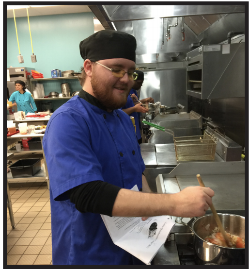 Student Enrolled At KCKCC TEC Culinary Arts Program.