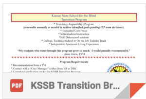Icon for Transition Program Download