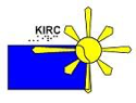 Kansas Instructional Resource Center logo. Blue state of Kansas with a Sun with rays in Northeast corner.