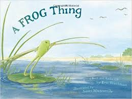 A Frog Thing Book Cover