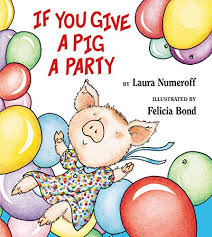 If You Give A Pig A Party Book Cover