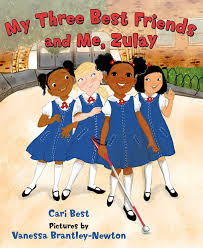 My Three Best Friends And Me, Zulay Book Cover