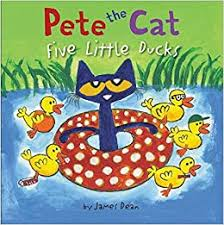 Pete The Cat 5 Little Ducks Book Cover