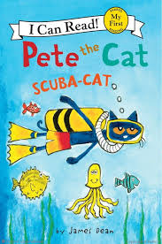 Pete The Cat Scuba-Cat Book Cover
