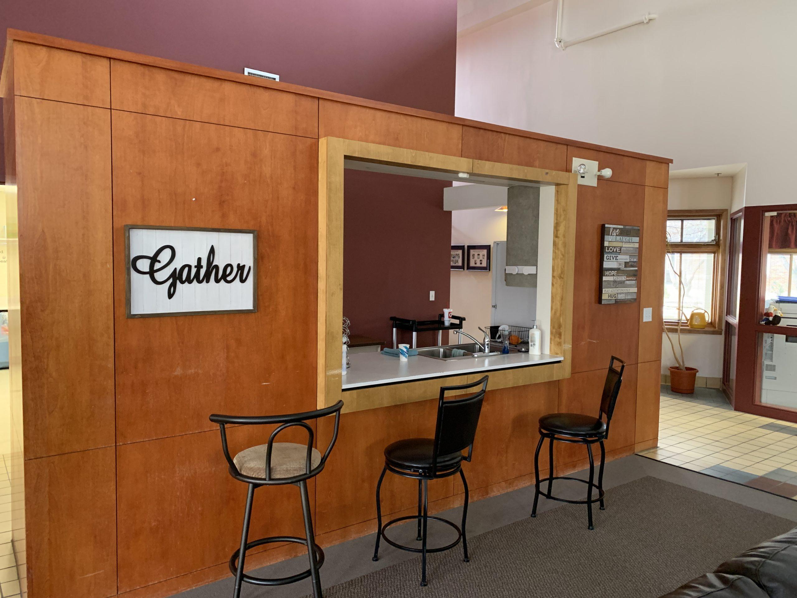 Edlund Great Room At Pass Through To Kitchen