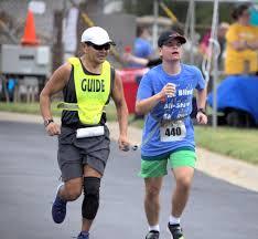 Guide Runner at 2019 KC Blind All Stars 5k run